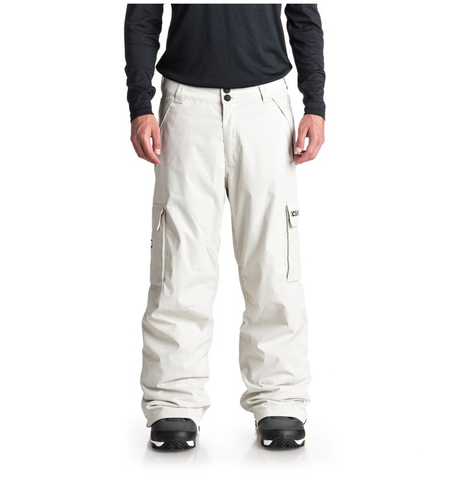0 Banshee Snow Pants White EDYTP03036 DC Shoes