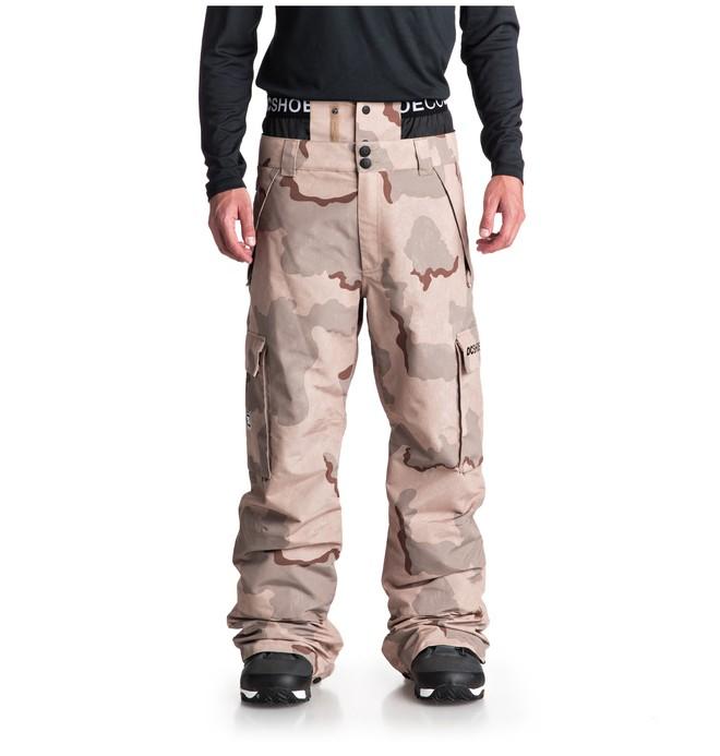 0 Сноубордические штаны Identity Коричневый EDYTP03037 DC Shoes