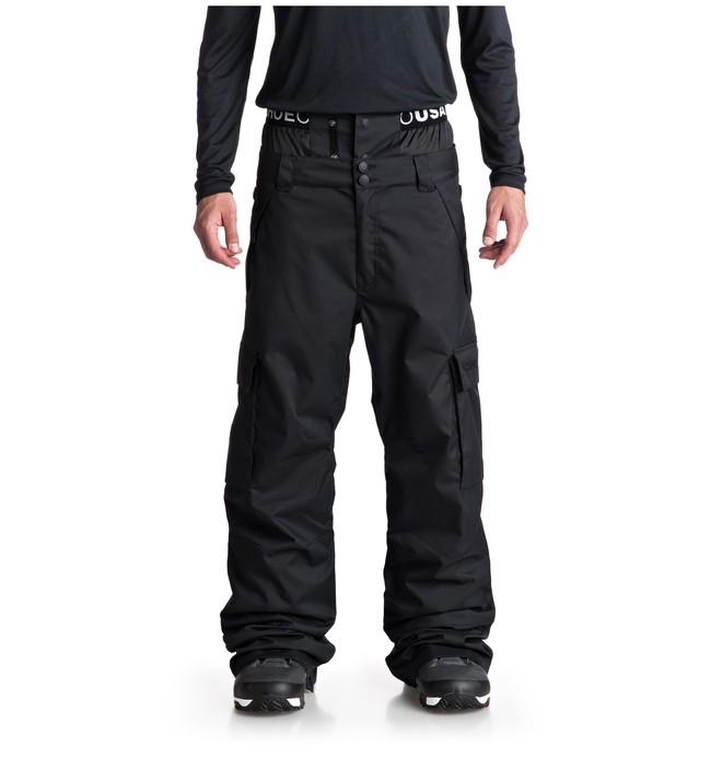 0 Сноубордические штаны Identity Черный EDYTP03037 DC Shoes