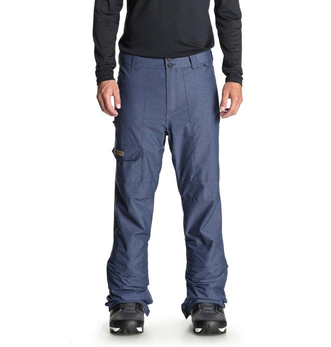 0 Dealer - Pantalon de snow pour Homme Bleu EDYTP03039 DC Shoes