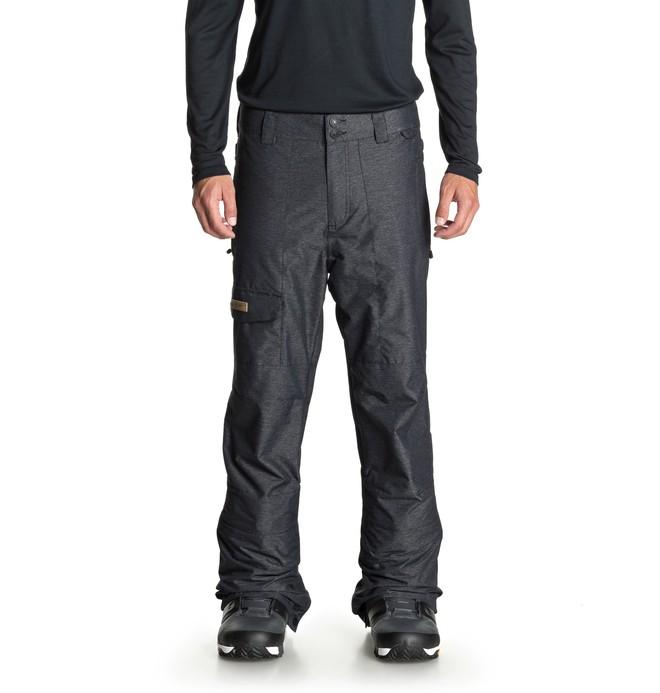 0 Dealer - Pantalón shell para nieve para Hombre Negro EDYTP03039 DC Shoes