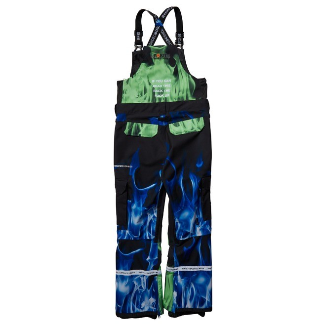 Rokit Revival - Shell Snowboard Bib Pants for Men  EDYTP03052
