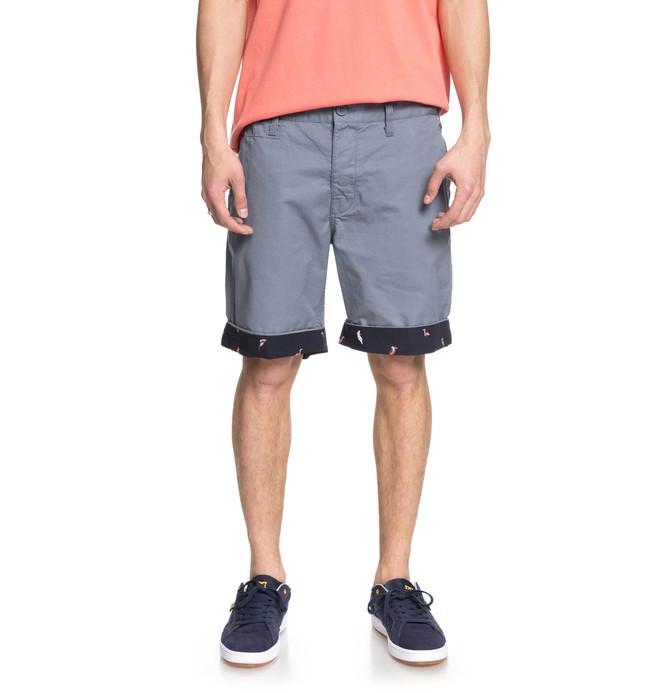 "0 Hidden Gem 19"" - Chino Shorts for Men Blue EDYWS03098 DC Shoes"