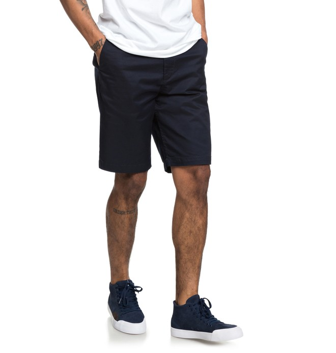 "0 Shorts Chino Worker de 20.5"" Azul EDYWS03111 DC Shoes"