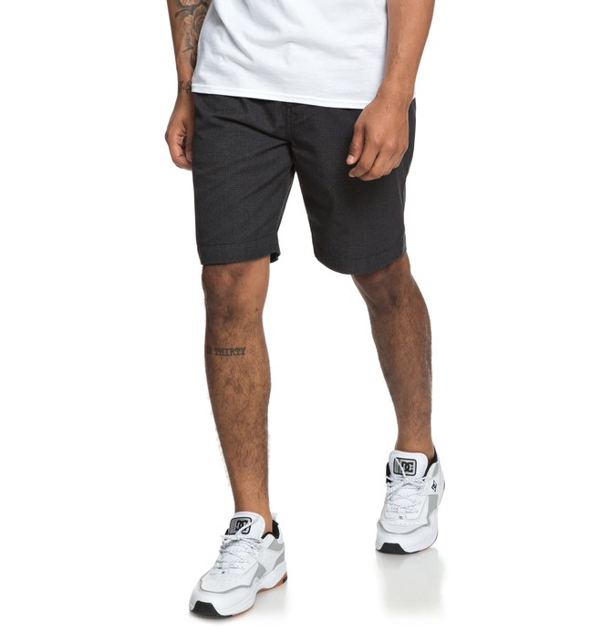 "0 Ace High 20.5"" Chino Shorts Black EDYWS03114 DC Shoes"