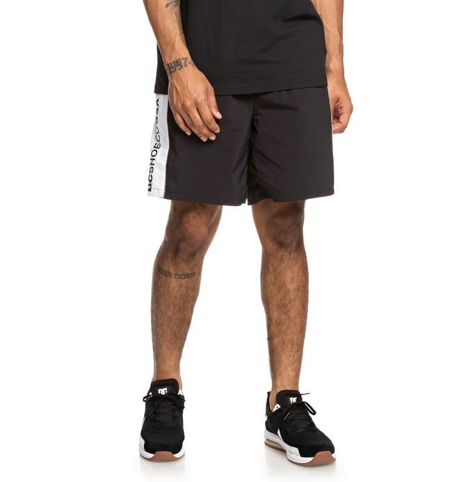 """0 Welwyn 18"""" - Short taille élastique pour Homme Noir EDYWS03125 DC Shoes"""