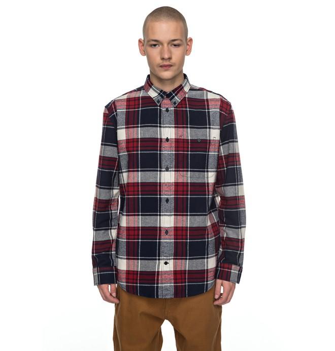 0 South Ferry - Chemise à manches longues pour Homme Rouge EDYWT03160 DC Shoes