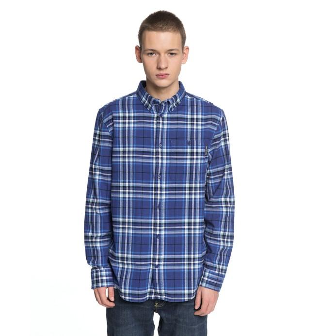 0 South Ferry - Chemise à manches longues pour Homme Bleu EDYWT03187 DC Shoes