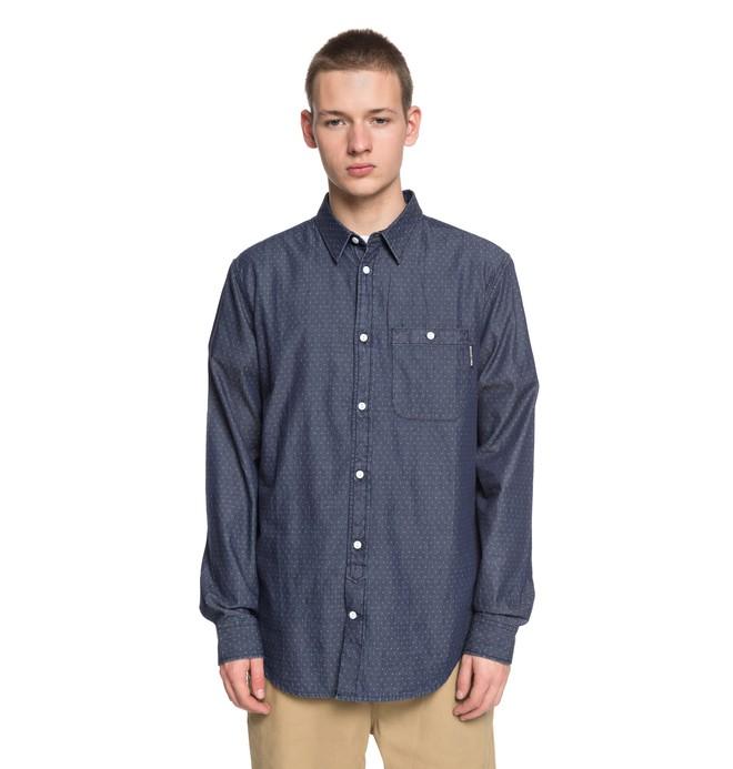 0 Swalendalen 2 - Camisa de Manga Larga para Hombre Azul EDYWT03190 DC Shoes