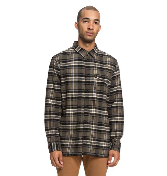 0 Marsha - Camisa de franela de manga larga para Hombre Verde EDYWT03207 DC Shoes