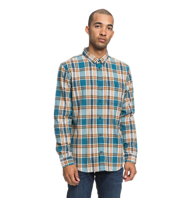 0 Camisa Manga Larga Northboat Azul EDYWT03208 DC Shoes