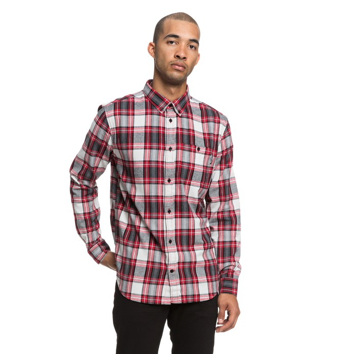 0 Camisa Manga Larga Northboat Rojo EDYWT03208 DC Shoes