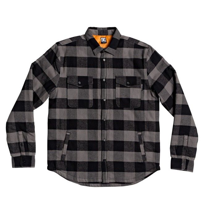 0 Landfilled - Camisa/Chaqueta de Manga Larga para Hombre Negro EDYWT03233 DC Shoes