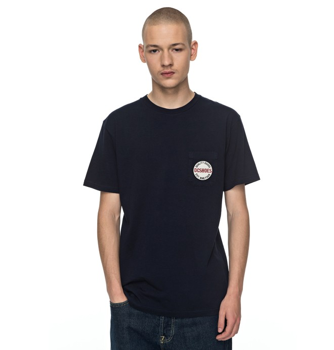 0 Junction Tee Blue EDYZT03700 DC Shoes