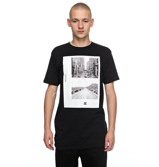 0 Keep Moving Tee Black EDYZT03705 DC Shoes