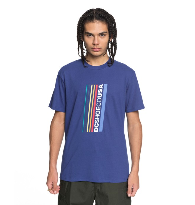 0 Laced Break - T-Shirt für Männer Blau EDYZT03761 DC Shoes