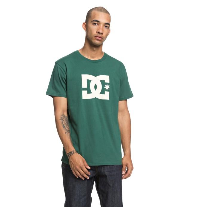 0 Star - T-Shirt voor Heren Green EDYZT03822 DC Shoes