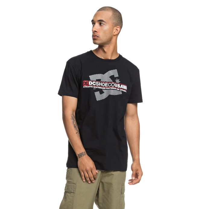 0 Destroy Advert - Maglietta da Uomo Black EDYZT03839 DC Shoes