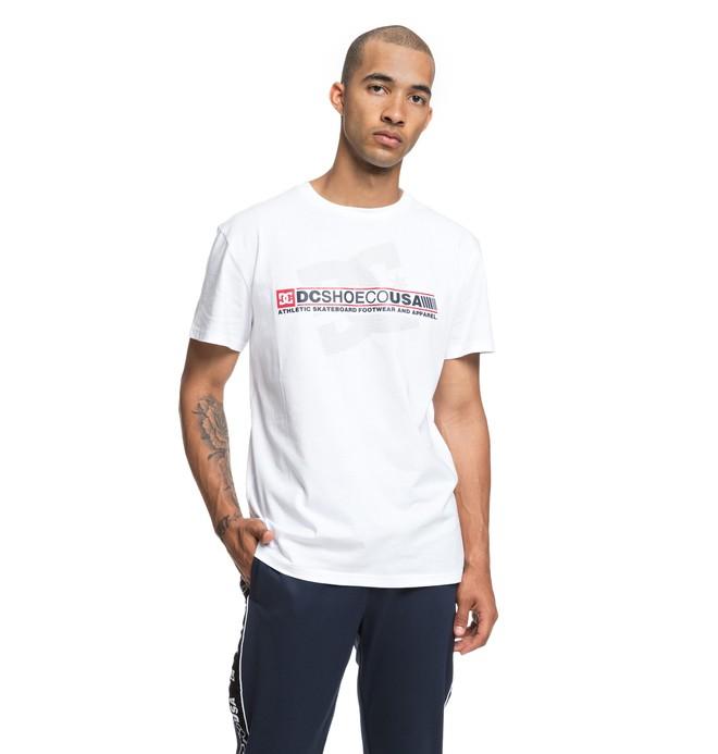 0 Destroy Advert - T-Shirt for Men White EDYZT03839 DC Shoes