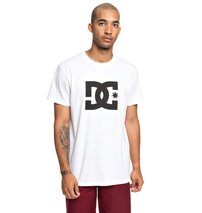 0 Star - Camiseta para Hombre Blanco EDYZT03900 DC Shoes