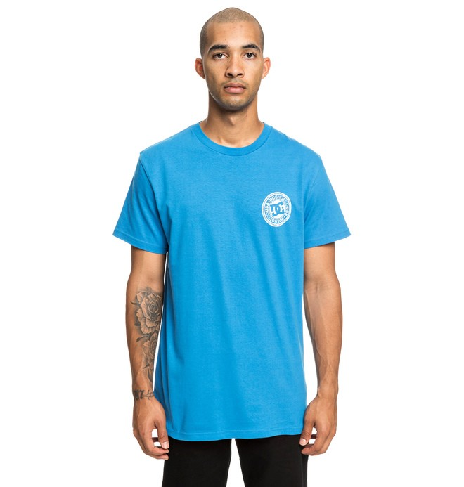 0 Circle Star - T-shirt pour Homme Bleu EDYZT03903 DC Shoes