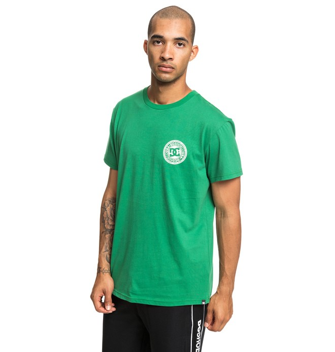 0 Circle Star - T-Shirt Green EDYZT03903 DC Shoes