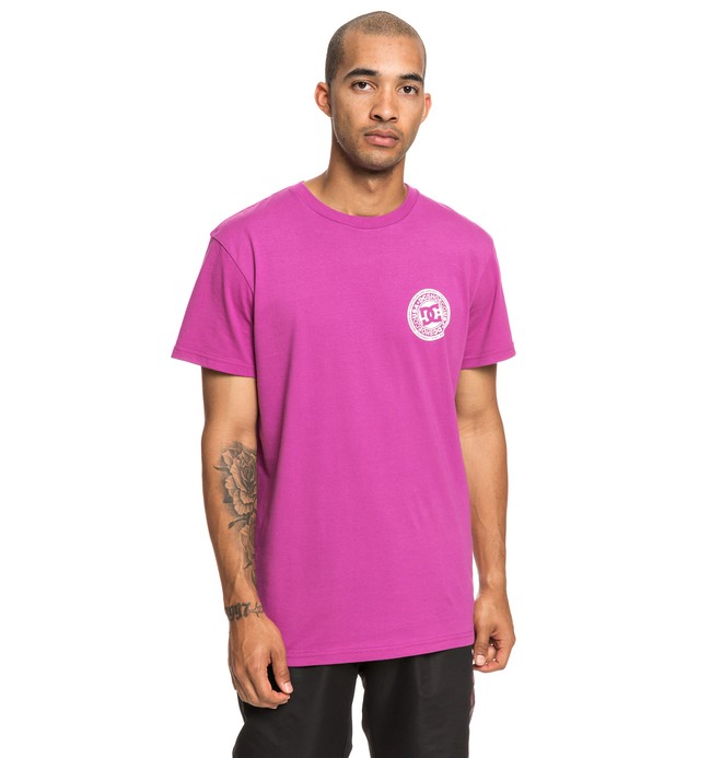 0 Circle Star - T-Shirt Pink EDYZT03903 DC Shoes