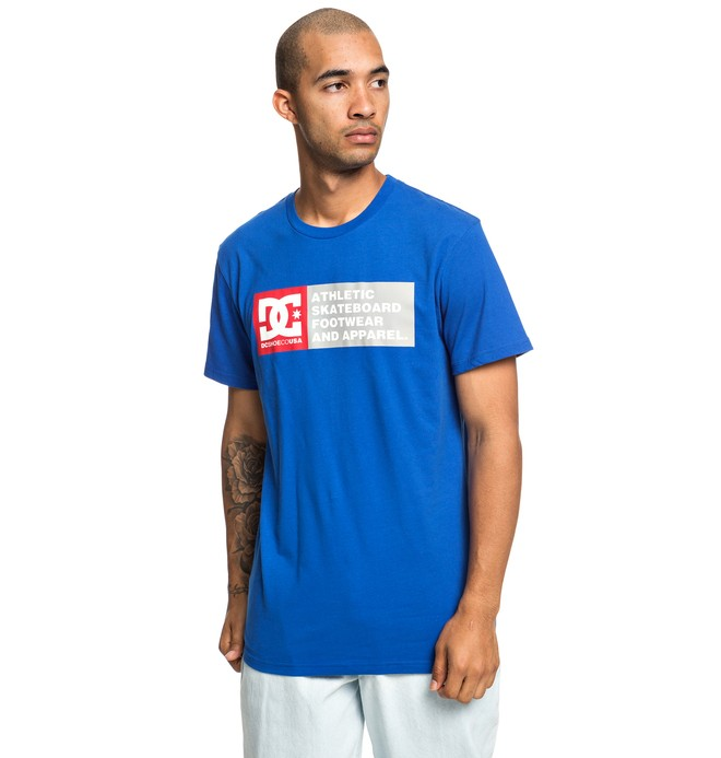 0 Vertical Zone - T-shirt pour Homme Bleu EDYZT03904 DC Shoes