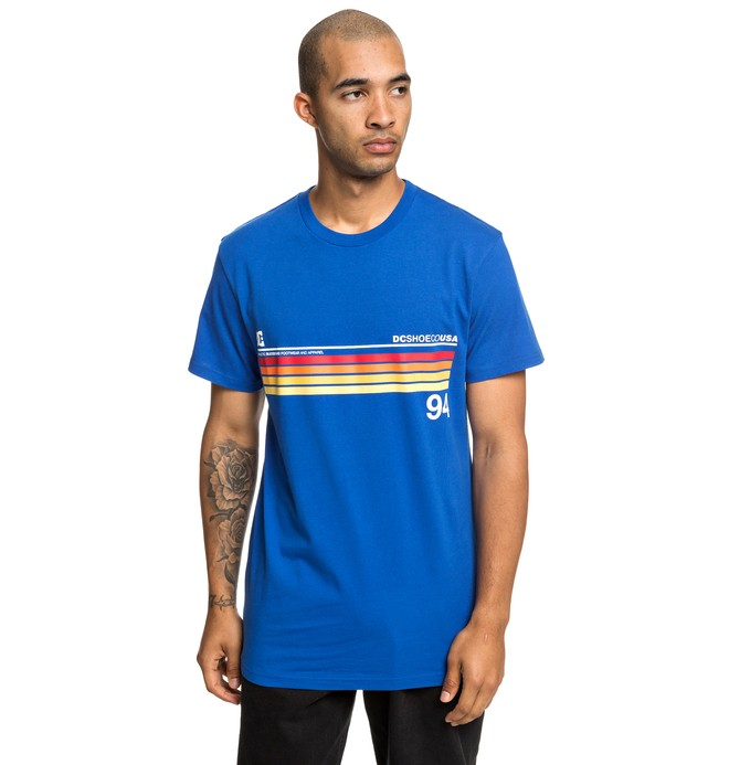 0 Crasingle - T-Shirt for Men Blue EDYZT03912 DC Shoes