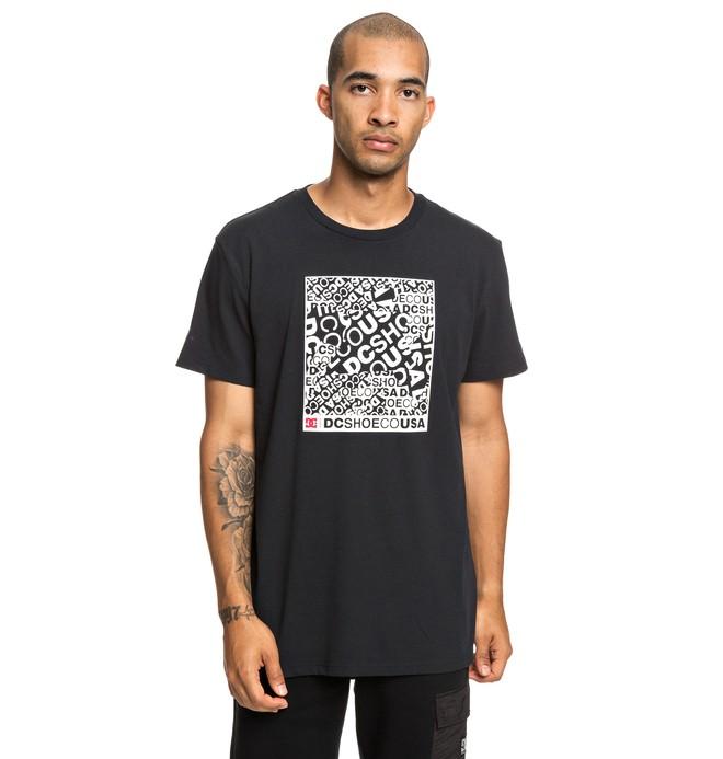 0 Cover Up - T-shirt pour Homme Noir EDYZT03939 DC Shoes