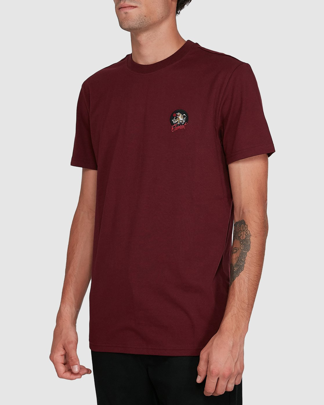 2 CAT CLAW SHORT SLEEVE TEE Red 102006 Element