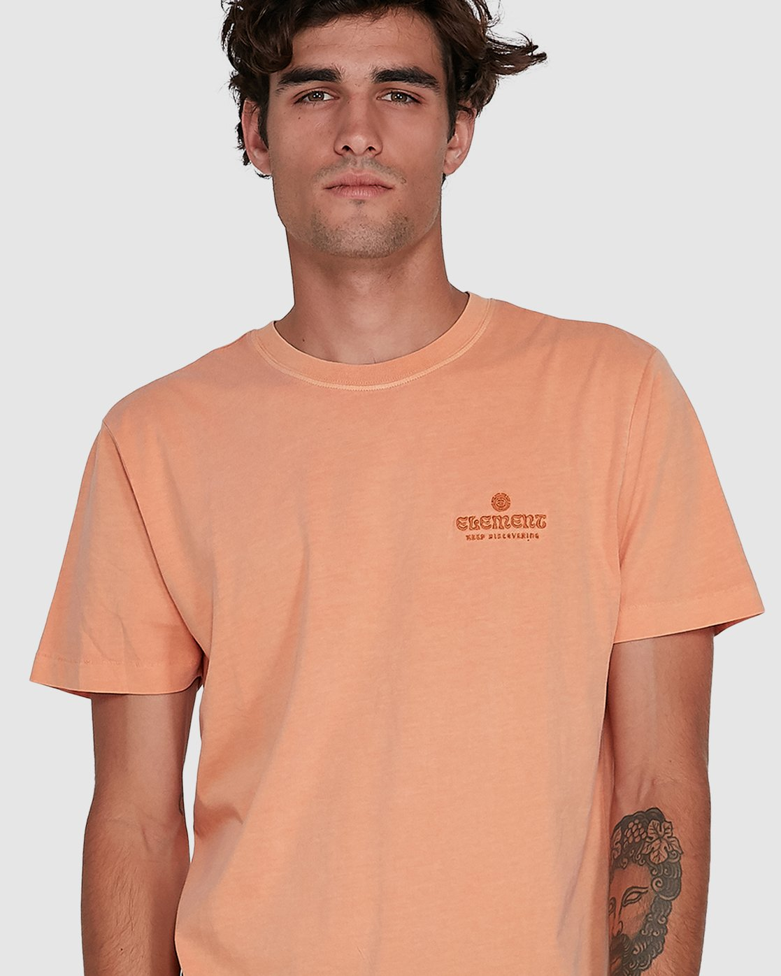 3 KEEP DISCOVERING SHORT SLEEVE TEE  102007 Element