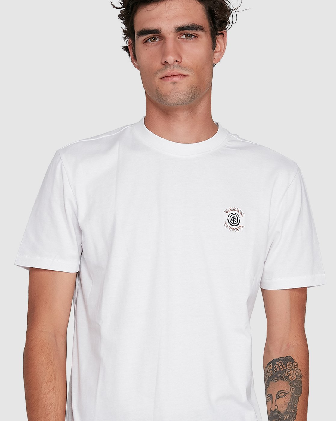 3 BRACKETT SHORT SLEEVE TEE White 102018 Element