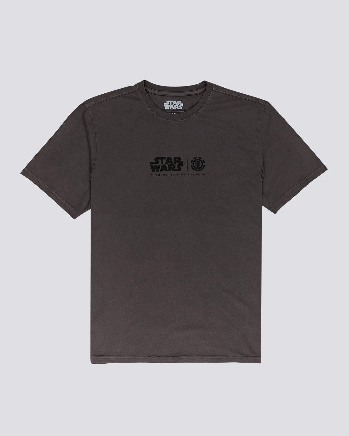 0 Star Wars X Element Pigment Wind T Shirt Grey 104001 Element