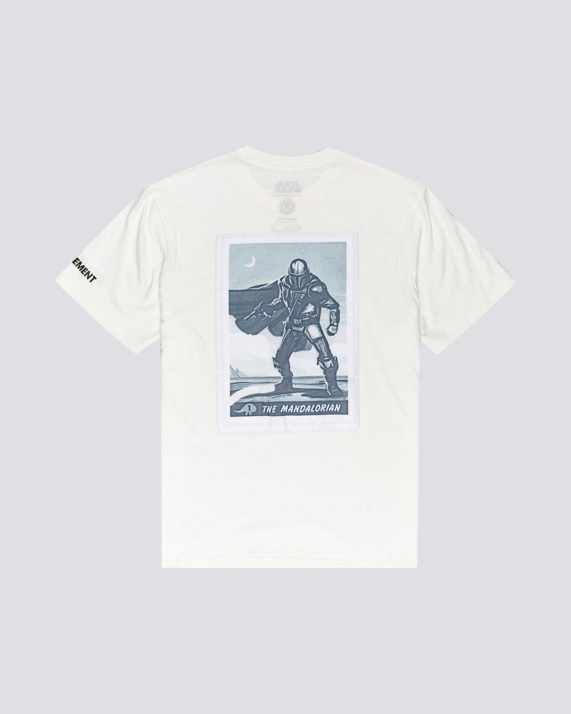1 Star Wars X Element Nâ°1 Mandalorian T Shirt  104004 Element