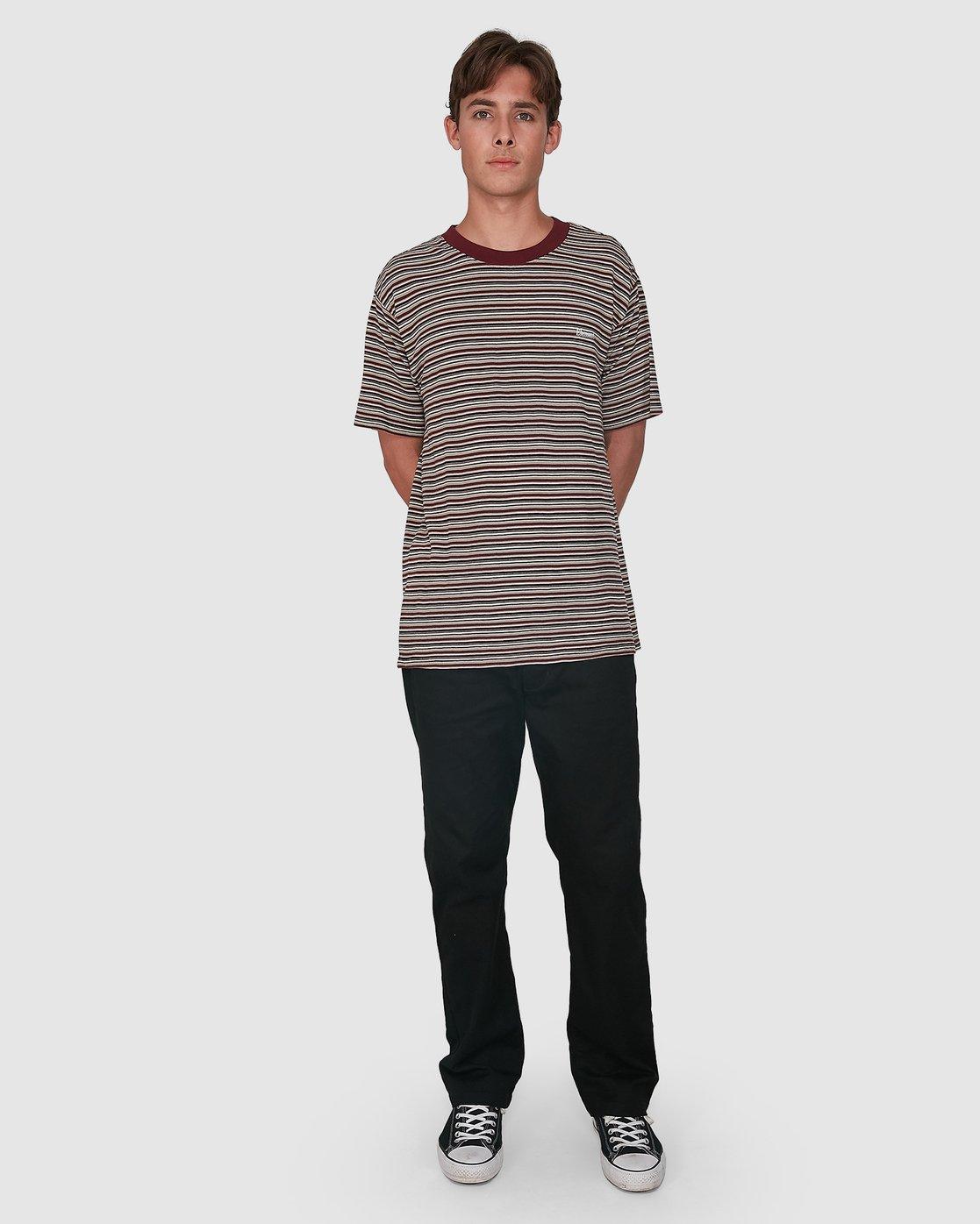 4 Skate Of Mind Short Sleeve Tee Blue 105003 Element