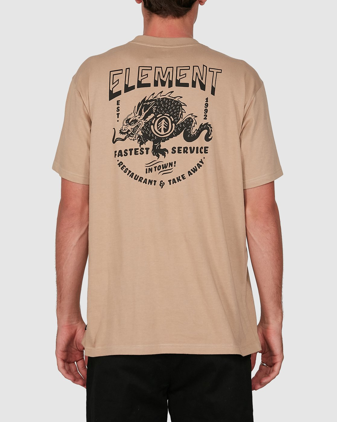 1 Fast Service Short Sleeve Tee Green 105010 Element