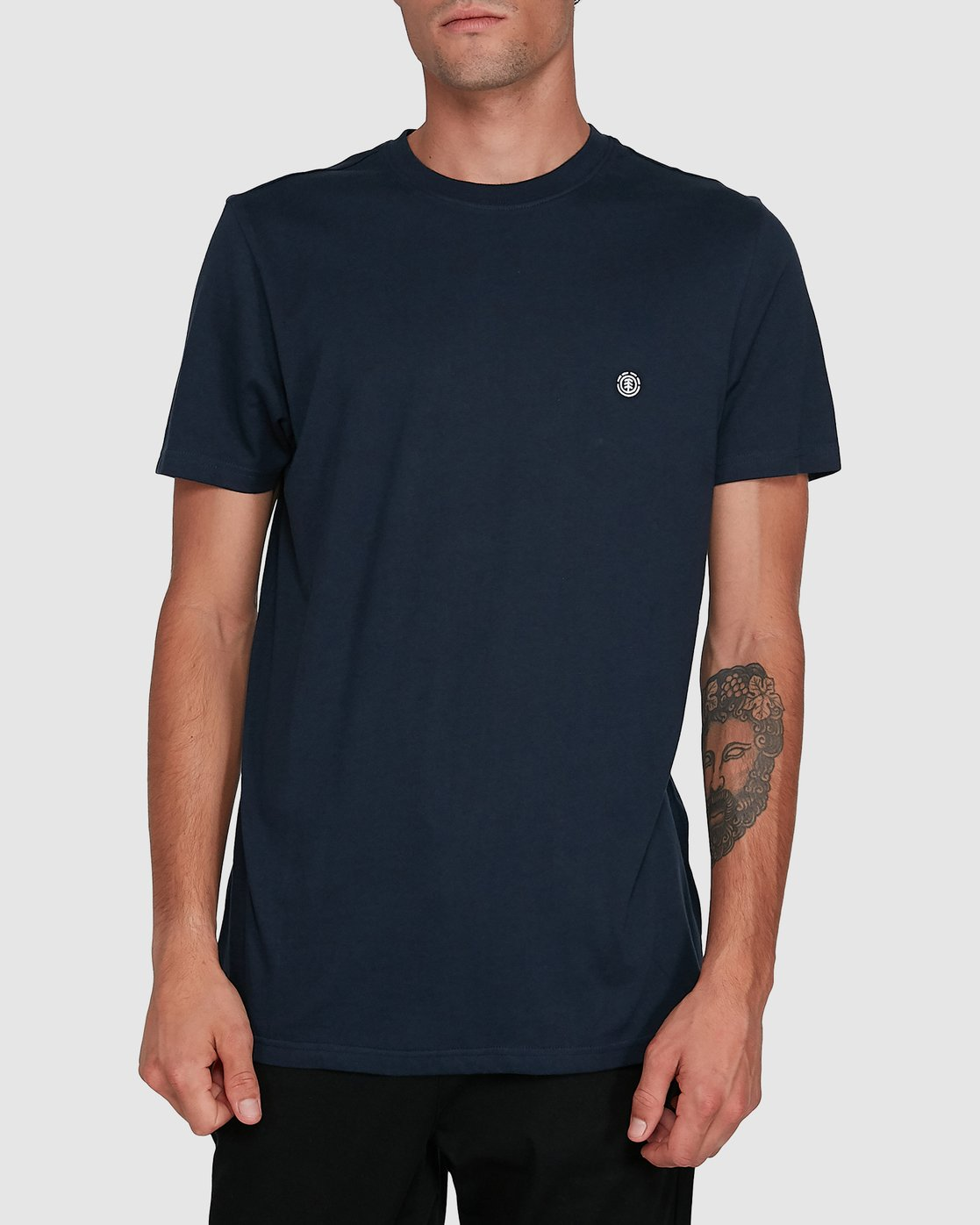 1 Cornell Short Sleeve Tee Blue 107004 Element