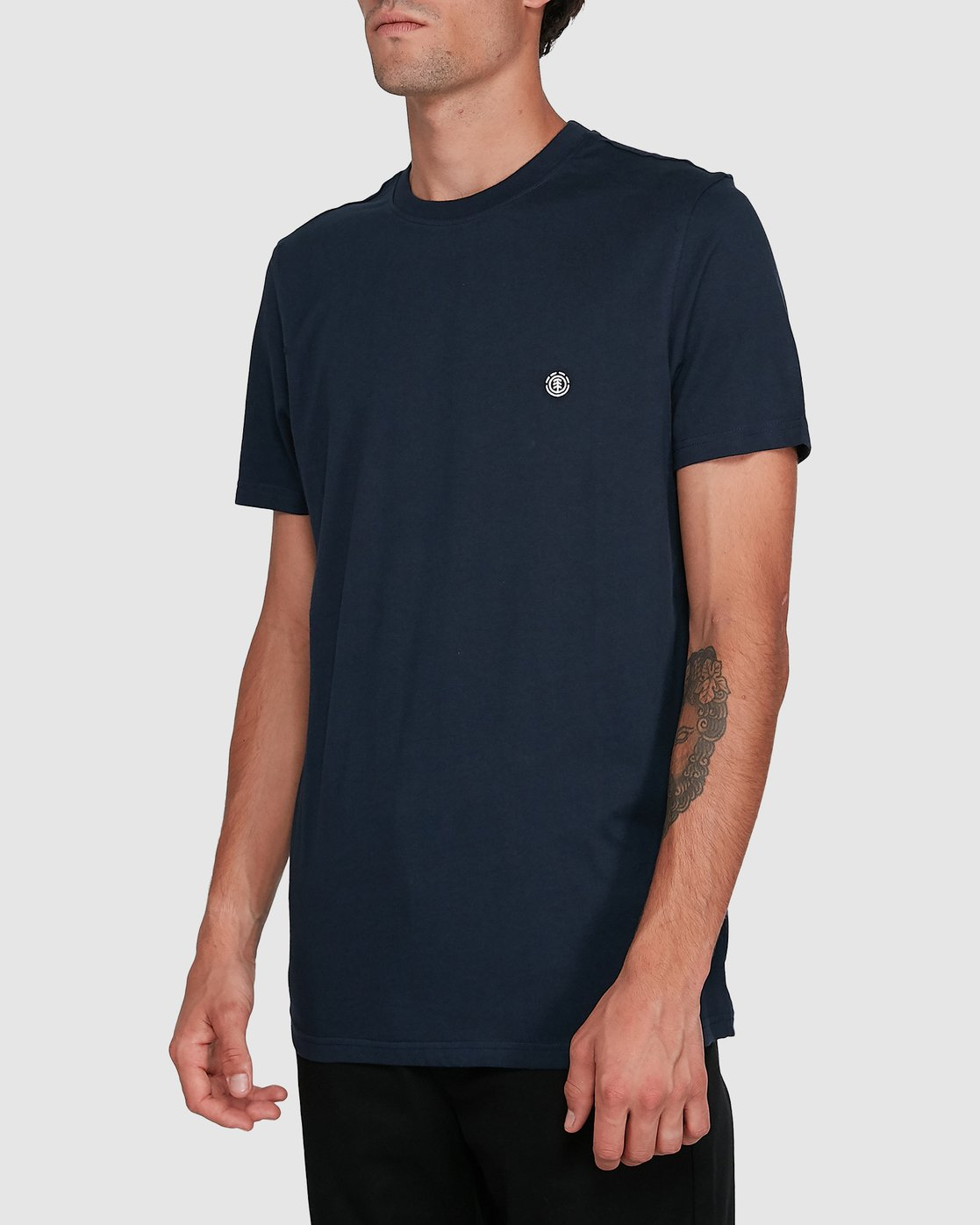 2 Cornell Short Sleeve Tee Blue 107004 Element