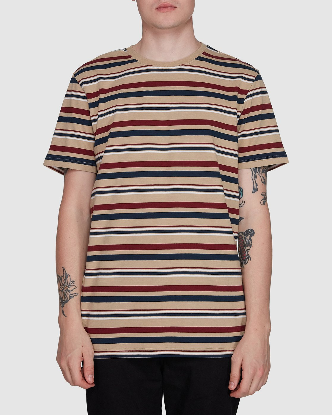 0 Fairway Stripe Ss Tee  107007 Element