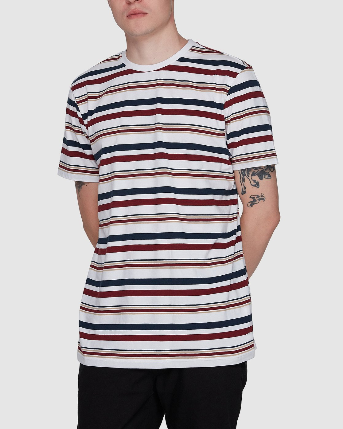 1 Fairway Stripe Ss Tee  107007 Element