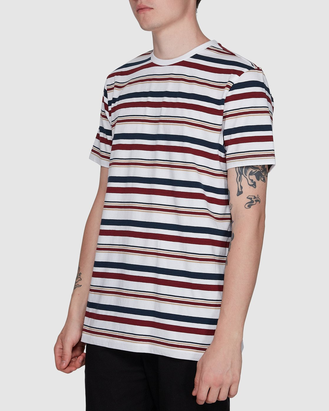 2 Fairway Stripe Ss Tee  107007 Element