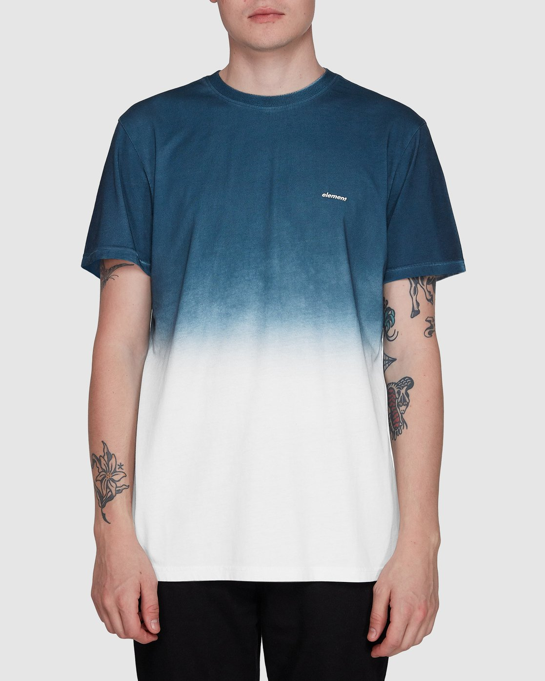 0 Cypress Ss Tee Blue 107011 Element