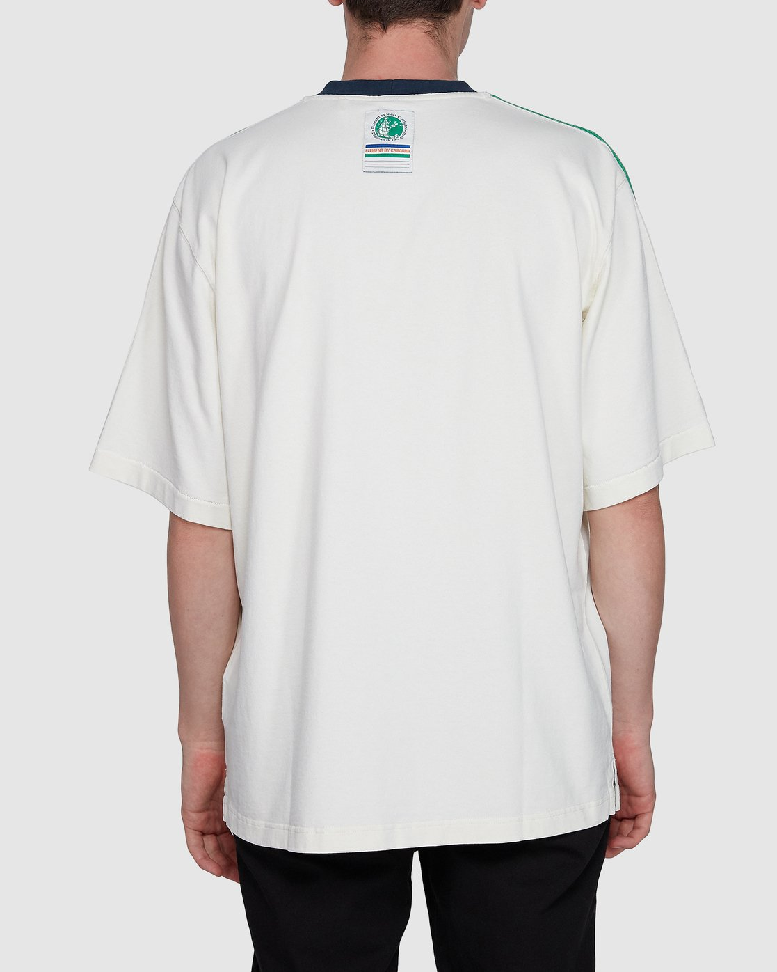 1 Big Sports Tee White 107027 Element