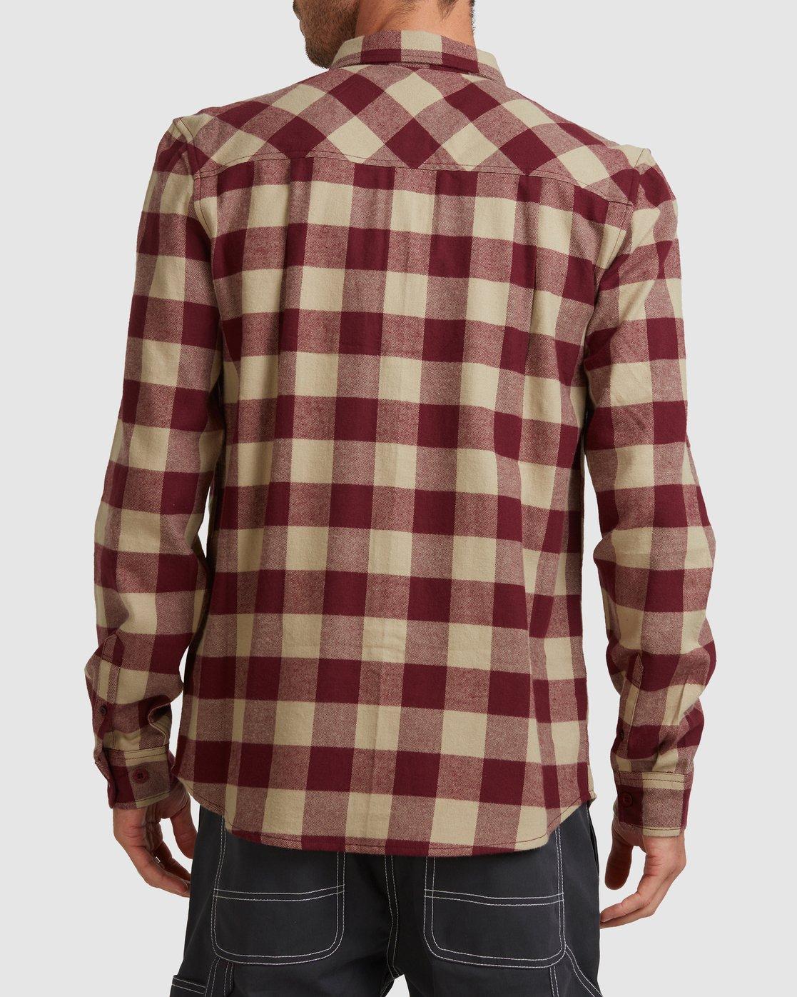 3 Buffalo Ls Shirt Red 107216 Element