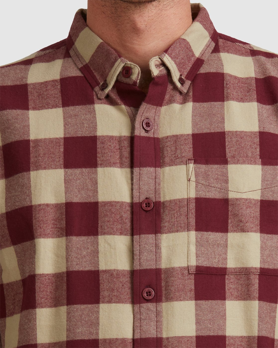 4 Buffalo Ls Shirt Red 107216 Element