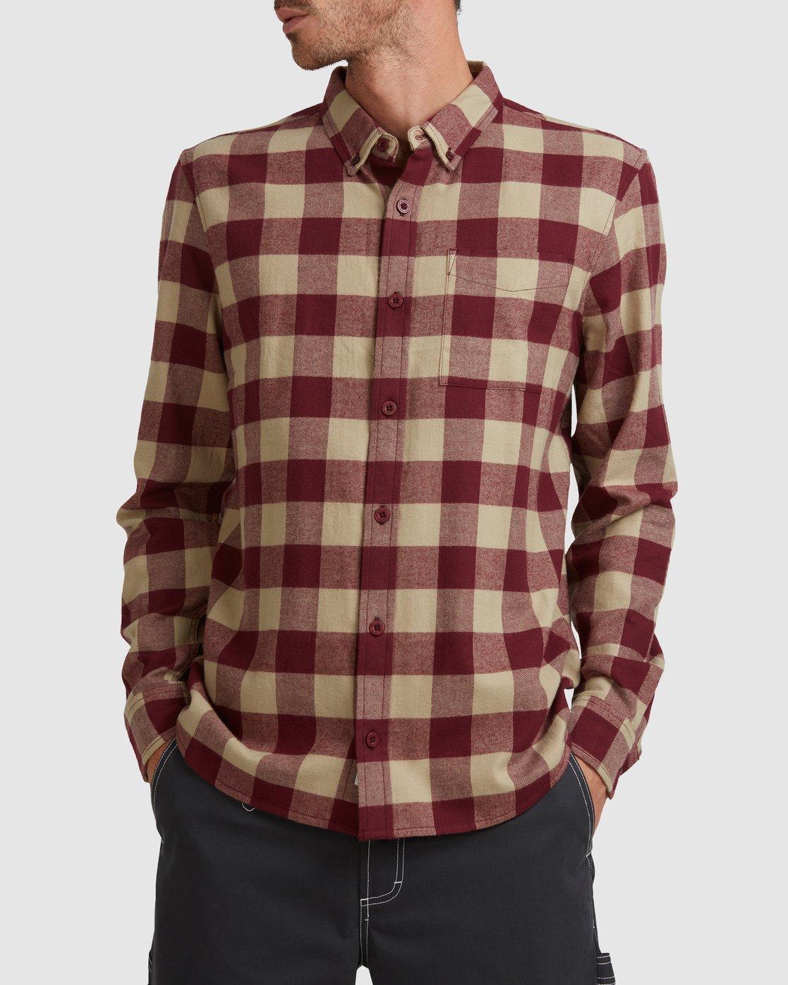 0 Buffalo Ls Shirt Red 107216 Element
