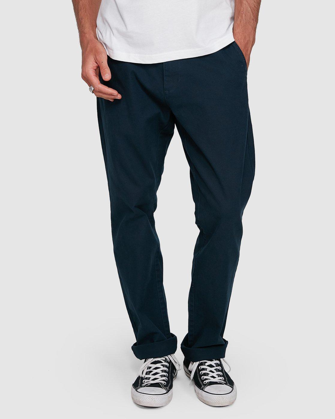 3 Midtown Pant Blue 107261 Element