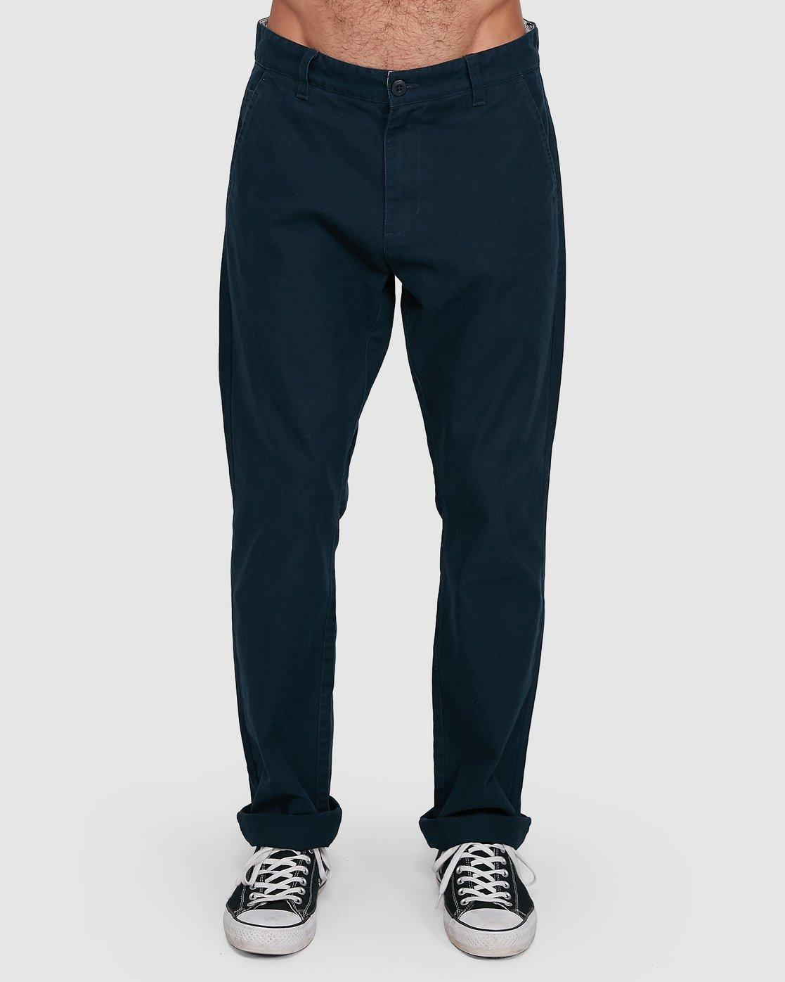 0 Midtown Pant Blue 107261 Element