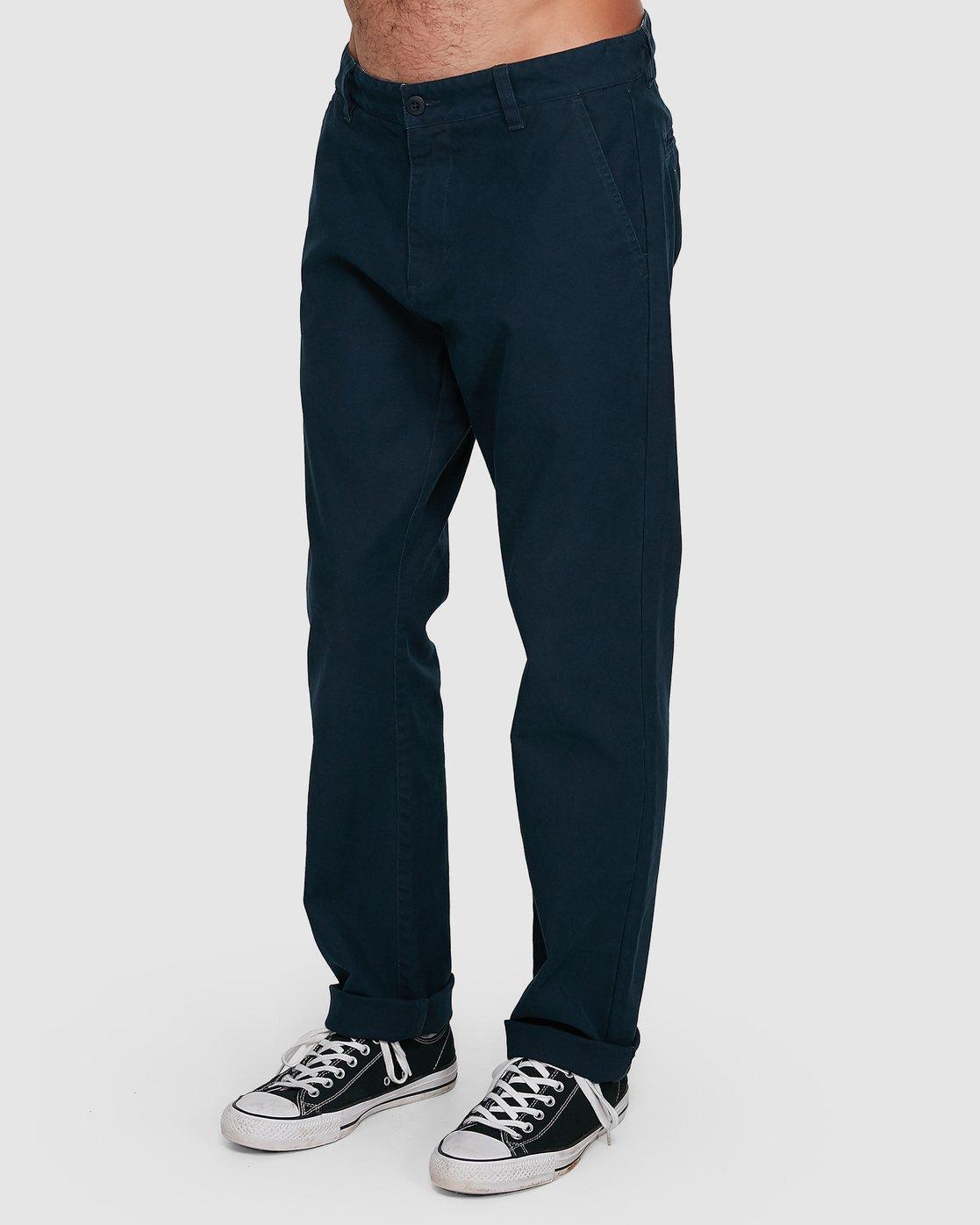 1 Midtown Pant Blue 107261 Element